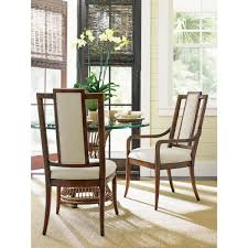 tommy bahama home 593 883 01 st barts back splat arm dining chair