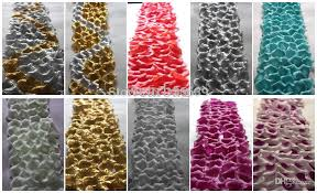 aisle runners for weddings best wholesale wedding aisle runner with silk petal floral valley