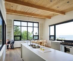 cuisine chalet moderne photos 40 cuisines à étagères ouvertes maison et demeure