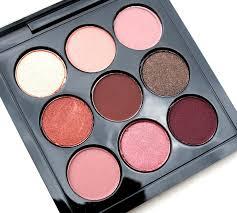 haysparkle mac burgundy times nine palette review