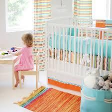 Orange Crib Bedding Aqua Crib Bumper Crib Bumper Pads Crib Bumpers
