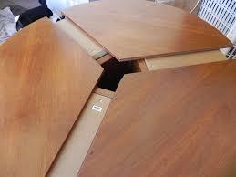 expandable round dining table amazing round expandable dining table dans design magz