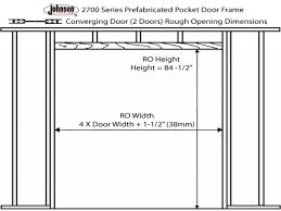Closet Door Opening Framing A Closet Door Opening Doors Ideas