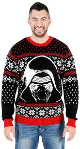 sweater wars amazon com wars the awakens kylo ren