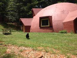 forest dome listed for rent on airbnb monolithic dome institute