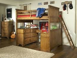 desk bunk bed with dresser and desk plans loft bed with desk and