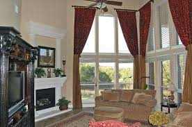 High Window Curtains Curtains For High Windows Beautiful High Ceiling Curtains And