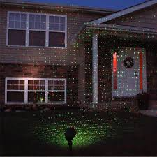 outdoor light projectort snowflakes bliss