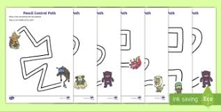 monsters writing frames aids primary resources 1