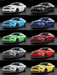 mustang rtr 2014 2014 ford mustang rtr spec 2 colors