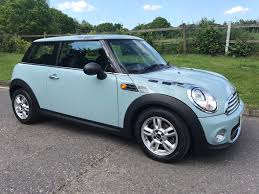 2012 mini one pepper pack in ice blue with low miles u0026 full