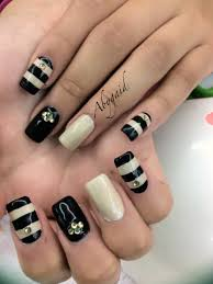 uas de gelish decoradas uñas de acrílico con gelish y piedras de swarovsky unas decoradas