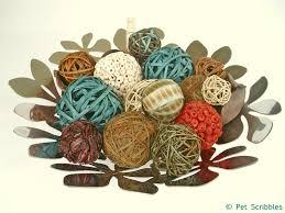 Vase Fillers Balls Diy Dyed Vase Fillers Deja Vue Designs