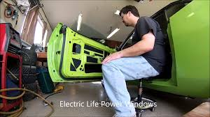 e body cuda u0026 challenger power window kits youtube