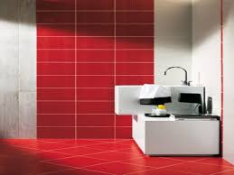 red bathroom ideas bedroom colours for modern pop designs lighting small bathrooms