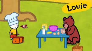 imagenes animadas oso oso louie dibujame un oso dibujos animados para niños youtube