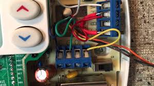 how to wire a thermostat with 4 or 5 wires youtube