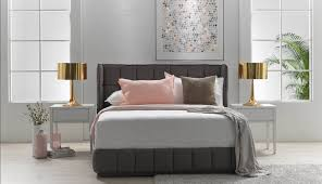 Milan Bed Frame Milan Size Bed Frame In Fabric Upholstery Harvey Norman