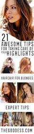 21 awesome tips for taking care of your highlights the goddess