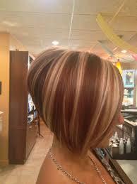 Bob Frisuren Concave by Stacked Bob Haircut Hair Strähnchen Bobs