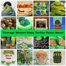 teenage mutant ninja turtles party ideas cowabunga dude