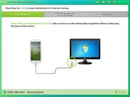 tenorshare android data recovery clean ui brilliant experience