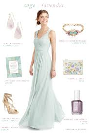 sage green and lavender for bridesmaids dress for the wedding