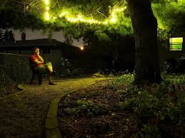 Hanging String Lights by How To Hang Outdoor String Lights U2014 All Home Design Ideas