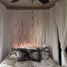 Diy Canopy Bed Best 25 Homemade Canopy Ideas On Pinterest Bed Canopy Lights