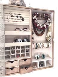 Wall Mount Jewelry Cabinet Best 25 Wall Mount Jewelry Organizer Ideas On Pinterest Wall
