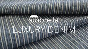 outdoor upholstery fabric review of sunbrella luxury denim outdoor upholstery fabric youtube