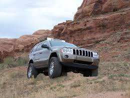 old jeep grand cherokee lifted superlift k864 4