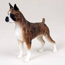 boxer dog statue boxer dog lover collection on ebay
