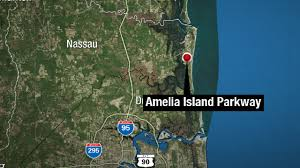 Amelia Island Florida Map Driver Dead 2 Hospitalized In Amelia Island Crash
