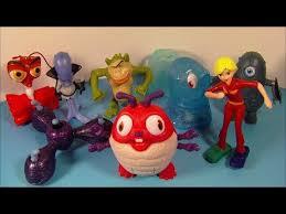 2009 monsters aliens 8 mcdonald u0027s happy meal movie toy u0027s