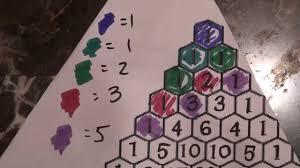 pascal u0027s triangle math project youtube
