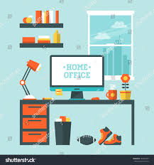 flat design vector illustration modern home stock vector 184401893