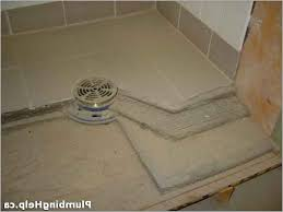 Shower Tile Installation How To Install Shower Drain For Tile Home Design And Pictures