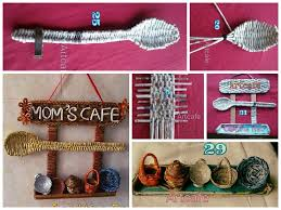 Craft Ideas For Kitchen How To Make Newspaper Weaving Art For Kitchen Art U0026 Craft Ideas