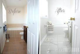 Can You Paint Bathroom Tile In The Shower Awesome Turns Out Ceramic Tile Can Be Painted It Requires A Lot Of