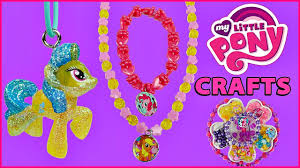 my little pony how to make jewelry using mlp beads u0026 toys fun