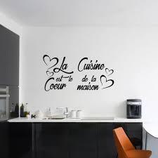 la cuisine citation sticker citation la cuisine est le coeur de la maison