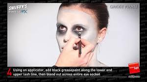 halloween pirate skeleton makeup images
