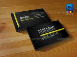 Business Card For Construction Company Business Card Company Message Examples Excellent Effective