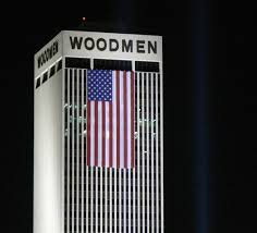 American Flag In Text File American Flag On Woodmen Tower Jpg Wikimedia Commons