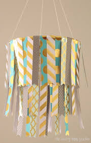 Paper Home Decor Diy Hanging Paper Mobile The Crafty Blog Stalker