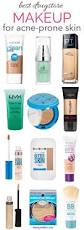 best drugstore makeup for acne prone skin