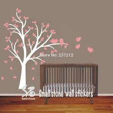 white tree wall decals white birch trees decal