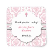 baptism favor christening stickers zazzle