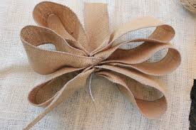 burlap ribbon bow how to make a scarecrow daisymaebelle daisymaebelle